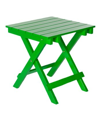 Green Adirondack Side Table
