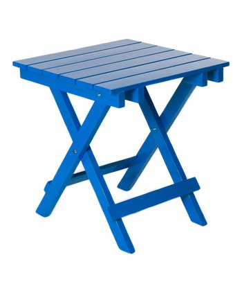 Royal Blue Adirondack Side Table