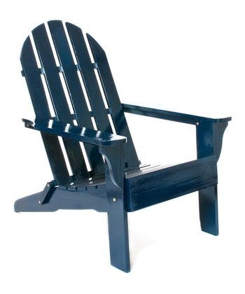 Navy Adirondack Chair
