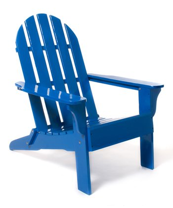 Royal Blue Adirondack Chair