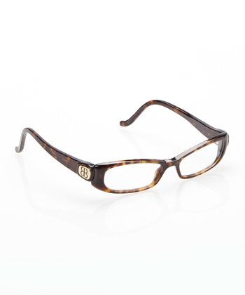 Havana Rectangle Eyeglasses