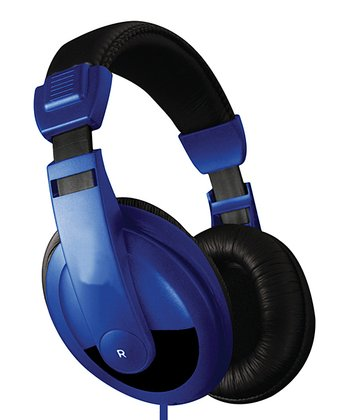 Blue DJ Headphones