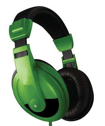 Green DJ Headphones