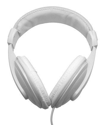 White DJ Headphones