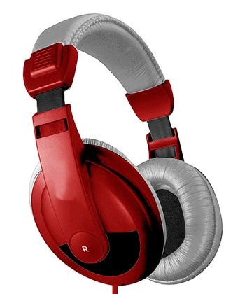 Red DJ Headphones