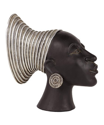 Silver Headpiece Figurine
