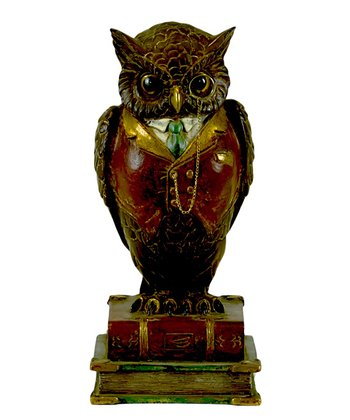Dapper Owl Figurine
