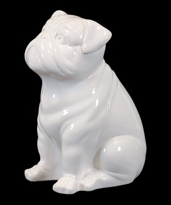 Sitting Dog Figurine