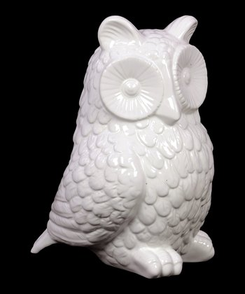 Sitting Owl Figurine