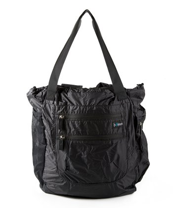 Black Every Day Convertible Diaper Bag