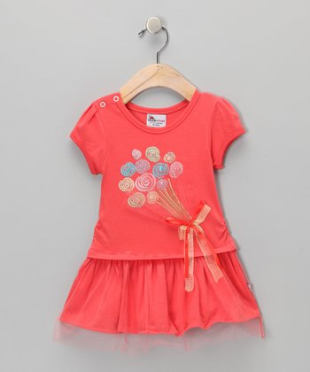 Red Balloons Dress - Infant