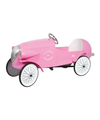 Pink Le Mans Pedal Car Ride-On