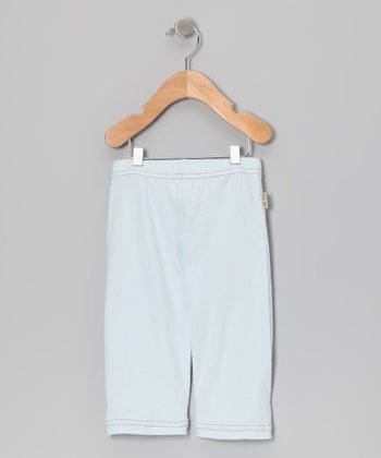 Illusion Blue Giggle Pose Pants - Infant