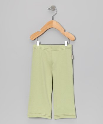 Lily Green Giggle Pose Pants - Infant