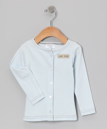 Illusion Blue Little Sumpin' Cardigan - Infant