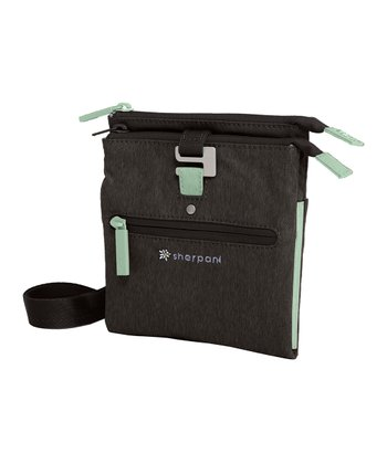 Heathered Black Lima Crossbody Bag
