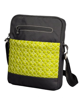 Citronelle Black	App Tablet Crossbody Bag