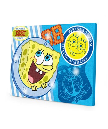 SpongeBob LED Canvas Wall Art