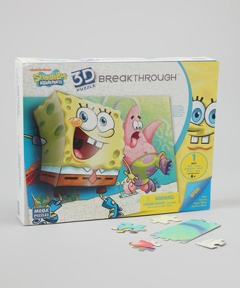 SpongeBob SquarePants 3-D Breakthrough Puzzle