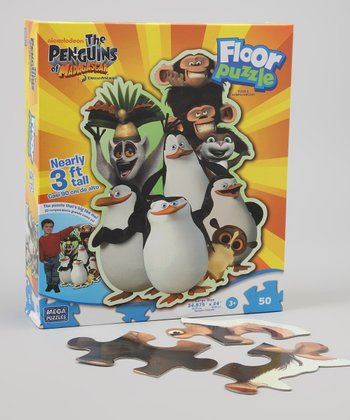 Penguins of Madagascar Floor Puzzle