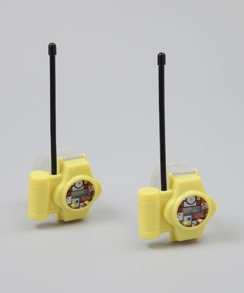 SpongeBob Walkie-Talkie Watch Set