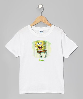 Smiley SpongBob Personalized Tee - Toddler & Kids