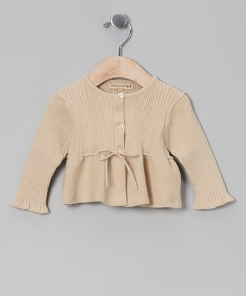 Ivory Knitted Cardigan - Infant