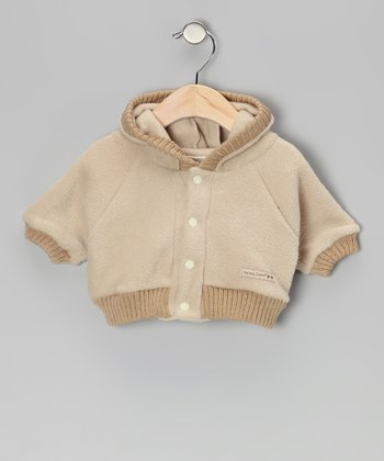 Tan Bear Hoodie - Infant