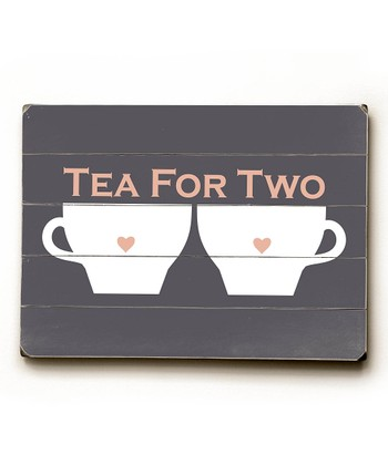 'Tea for Two' Wall Art