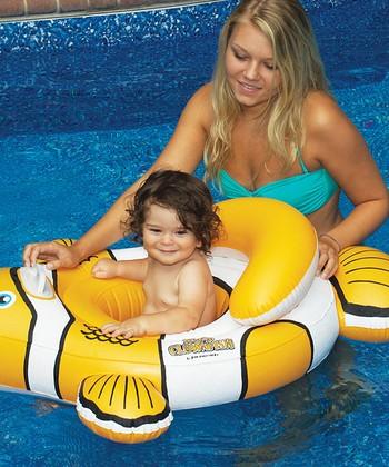 Clownfish Baby Seat Float