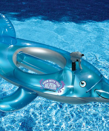 Dolphin Water Squirter Float