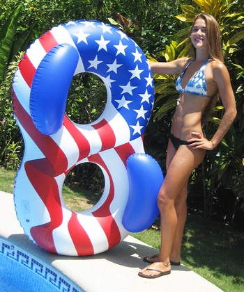 Americana Double Ring Float