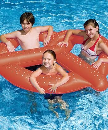 Giant Pretzel Float