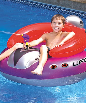 UFO Water Squirter Float