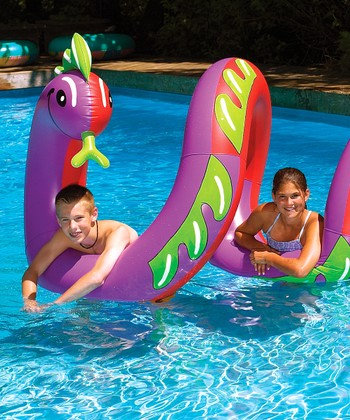 Curly Serpent Float