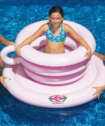 Tea Cup Spinner Float