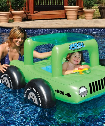 Green Pool Buggy Float