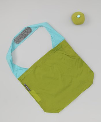 Pea Green & Sky 24-7 Bag - Set of Two