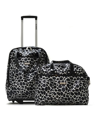 Black Beverly 16'' Boarding Tote & 18'' Wheeled Carry-On