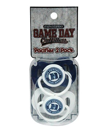 Duke Pacifier Set