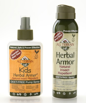Natural Herbal Armor BOV Spray & Kids Herbal Armor Spray