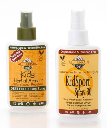 Natural KidSport Herbal Armor & SPF 30 Sunscreen Spray