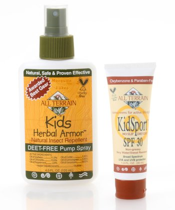 Natural KidSport Herbal Armor & Sunscreen Lotion