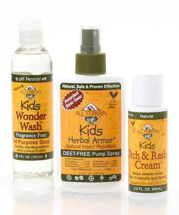 Natural Kids Bug Repellent & Soothing Itch Set