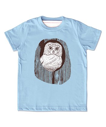 Blue Owl Organic Tee - Infant