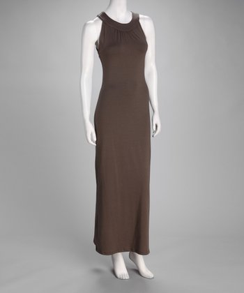 Brown Maxi Dress