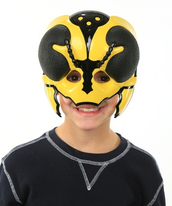 Yellow Hornet Bug Hedz Face Mask