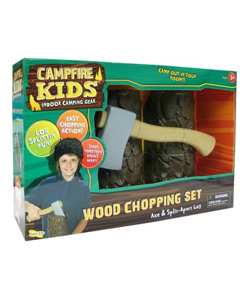 Campfire Kids Wood Chopping Set