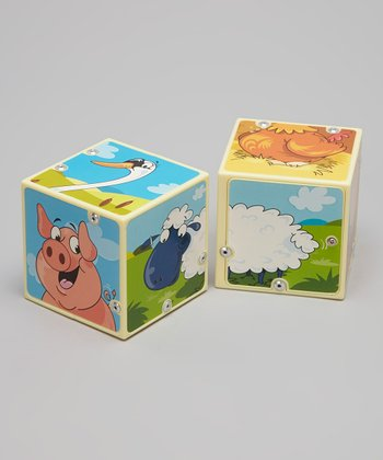 Farm Animals Sound Blocks