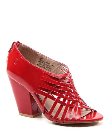 Lipstick Red Dandy Line Shoe
